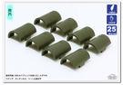 (安裝時損壞有備用商品可用)「25mm管徑用」夾片