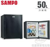 【佳麗寶】-來電享加碼折扣(SAMPO聲寶)單門冷藏箱-50公升KR-UB50D