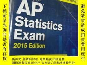 二手書博民逛書店CRACK罕見AP STATISTICS 2015 美國大學預修