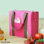 韓版 創意 手提 背袋 保溫包 便當包 午餐包 收納袋 收納包 冰包 保冷袋 『無名』 H08109
