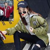 棒球外套 夾克港風棒球服bf原宿風百搭韓版夾克加厚