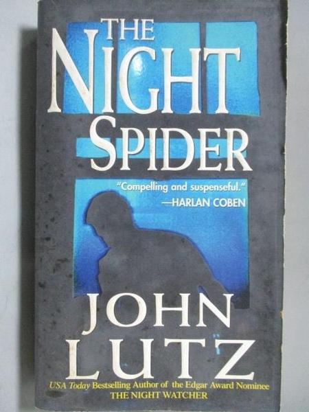 【書寶二手書T8/原文小說_LAY】The Night Spider_John Lutz