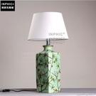 INPHIC- 田園花鳥陶瓷檯燈新古典歐式優雅臥室床頭燈結婚房客廳檯燈-B款_S197C
