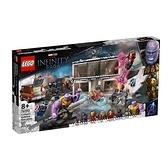 76192【LEGO 樂高積木】Marvel 漫威英雄系列 - 復仇者聯盟:終局之戰最終對決