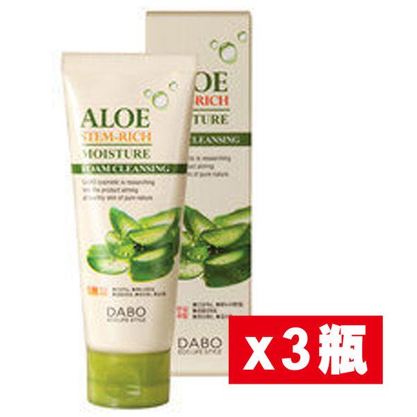 【東勝】DABO韓國草本蘆薈洗面乳  3條裝