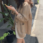 西裝外套 超好搭好看棉麻西裝外套 艾爾莎 【TGK7835】