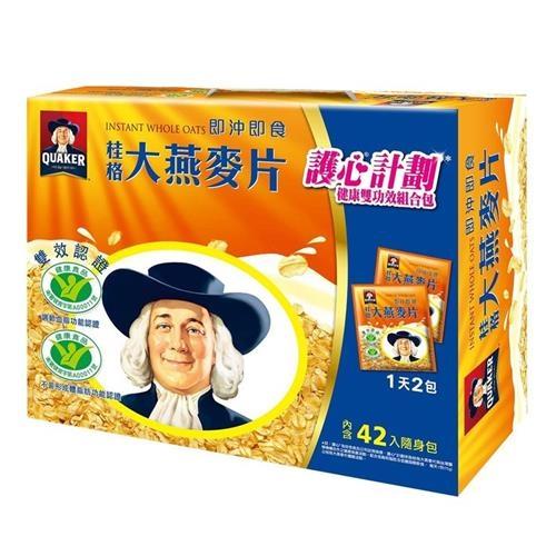 桂格即食大燕麥片隨身包 37.5公克 X 42包
