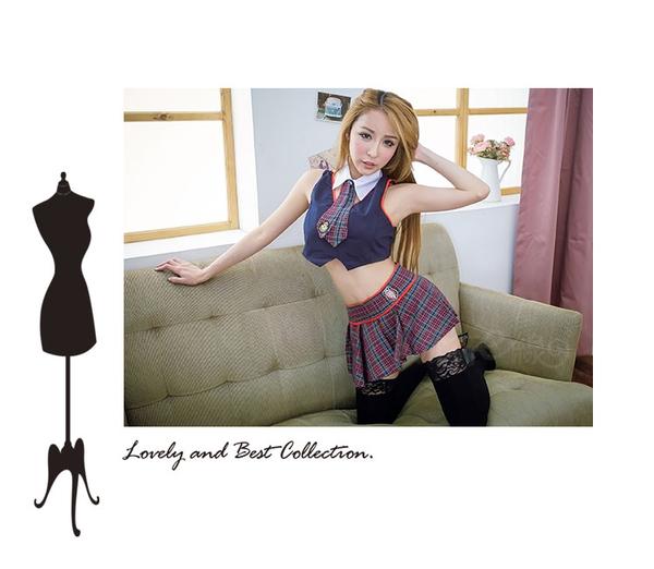 性感水手服cosplay服裝~情趣學生服水手制服角色扮演服裝~流行E線A7027