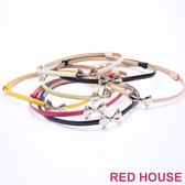 Red House 蕾赫斯-蝴蝶結伸縮細皮帶(共7色)