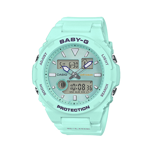 CASIO 卡西歐 手錶專賣店 BABY-G BAX-100-3A 運動衝浪型雙顯女錶 防水100米 BAX-100