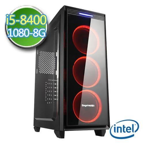 技嘉B360平台【邪兵帝王II】i5六核 GTX1080-8G獨顯 SSD 240G效能電腦