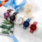 手錶 韓版女士手錶高氣質時裝錶菱形女士手錶 俏girl
