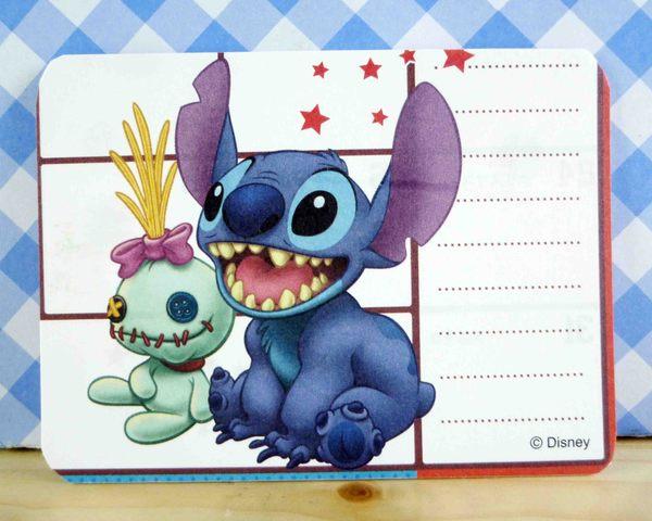 【震撼精品百貨】Stitch_星際寶貝史迪奇~卡片-張牙坐