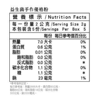 【米森】益生菌手作優格粉2盒(2gX5包/盒+聯名KOMAX保鮮盒】~免運