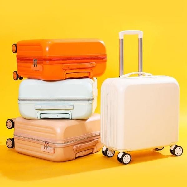 拉桿箱 行李箱女小號迷你18寸拉桿箱20寸旅行箱學生高顏值皮箱結實耐用