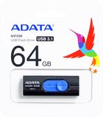 威剛64G隨身碟USB3.1 (AUV320-64G-RBKBL)  ADATA