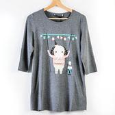 【MASTINA】巨蛋十周年聯名T恤(大象)-花灰  秋裝限定嚴選