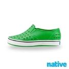 【南紡購物中心】【native】大童鞋 MILES 小邁斯-蚱蜢綠x貝殼白