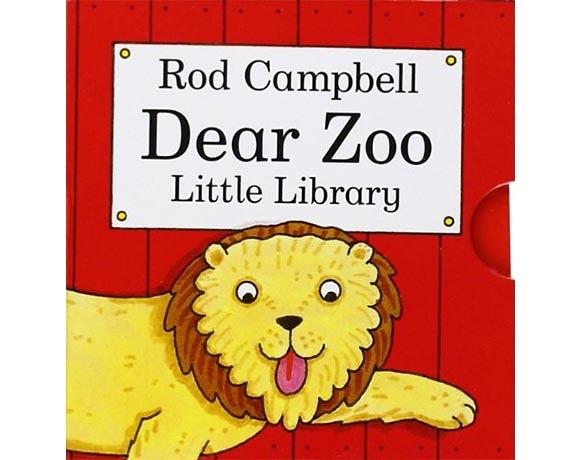Dear Zoo Little Library 可愛的動物園 掌中盒裝書