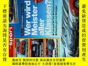 二手書博民逛書店auto罕見motor and sport HEFT.15 2013 07 11 外文原版汽車雜誌Y14610