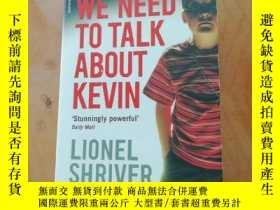 二手書博民逛書店We罕見Need To Talk About Kevin Film tie-in 英文原版 凱文怎麽了 電影版 萊