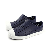 native JEFFERSON 洞洞鞋 深藍色 小童 童鞋 13100100-4201 no756