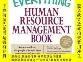 二手書博民逛書店The罕見Everything Human Resource Management BookY410016 S