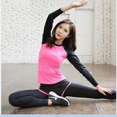 瑜伽服夏短袖速干運動晨跑步顯瘦大碼短褲女兩件套 OR151『伊人雅舍』