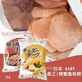 (即期商品) 日本WANY 起士/烤蝦風味餅(包)