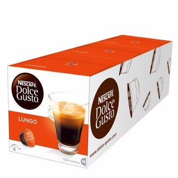 雀巢 新型膠囊咖啡機專用 美式濃黑咖啡膠囊 (一條三盒入) 料號 12332410 ★香醇順口的絕佳口感