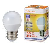 T.shine LED-黃(5W)【愛買】