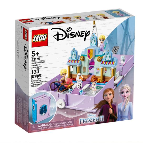43175【LEGO 樂高積木】迪士尼公主 Disney Princess- 安娜與艾莎的口袋故事書 (133pcs)