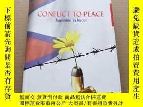 二手書博民逛書店CONFLICT罕見TO PEACE Transition in
