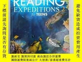 二手書博民逛書店NATIONAL罕見GEOGRAPHIC READING EXPEDITIONS for TEENS 2(國家地理