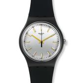 Swatch  都會晨光簡約石英腕錶   SUOB132