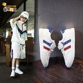 兒童運動鞋2018秋季新款韓版男童鞋跑步鞋小白鞋女童鞋板鞋寶寶鞋