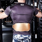 健身腰帶-真皮健美訓練耐用深蹲腰帶2款5色73nr3【時尚巴黎】