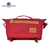 【COLORSMITH】WAY・隨行郵差包-紅色・WAY1379-RE