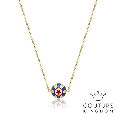 Couture Kingdom 迪士尼小飛象馬戲團 鍍14K金項鍊 Dumbo Circus Ball Necklace
