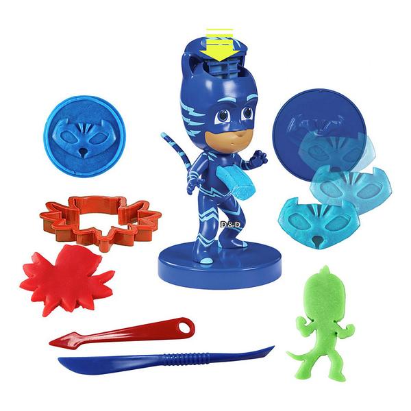 【PJ Masks 睡衣小英雄】小英雄模型黏土組╭★ JOYBUS玩具百貨
