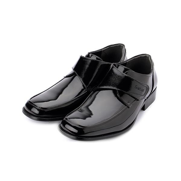 SARTORI 黏帶少男紳仕鞋 黑 男款