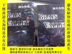 二手書博民逛書店日文原版書:BRAIN罕見VALLEY (上下冊)·Y3701