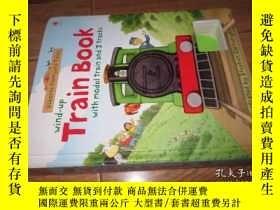 二手書博民逛書店wind-up罕見train book with model a