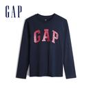 Gap男童徽標亮片上衣542996-藏青色