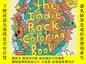 二手書博民逛書店Indie罕見Rock Coloring BookY256260 Yellow Bird Project Ch