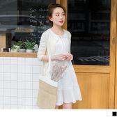 OrangeBear《DA4640》直條壓紋綁帶拼接蕾絲花邊蛋糕層次裙襬無袖洋裝.2色--適 XL~5L