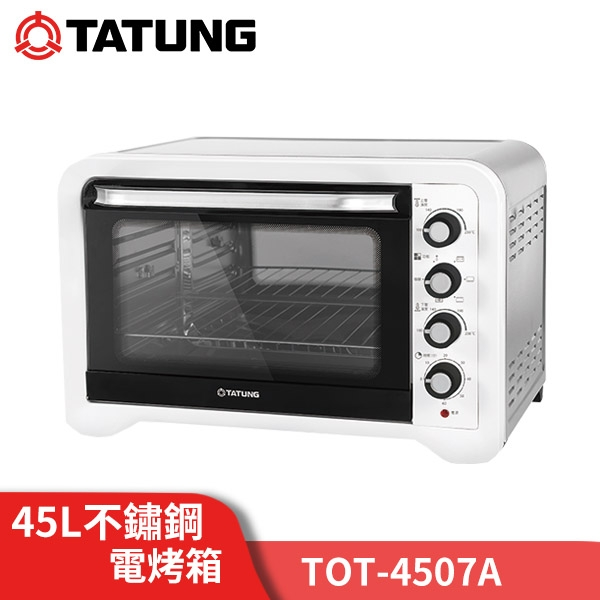 TATUNG大同 45公升雙溫控 不鏽鋼烤箱 TOT-B4507A 台灣公司貨 原廠保固