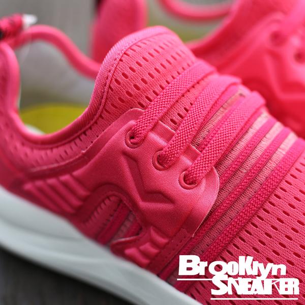 PONY SPLASH-X 桃紅白 透氣網布 免鞋帶 輕量 女 (布魯克林) 73W1SP01PM