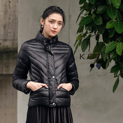 東京著衣【KODZ】極輕質感立體剪裁羽絨外套-S.M.L(171618)