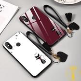 小米手機殼8/青春版8se屏幕指紋探索版全包可愛情侶【雲木雜貨】